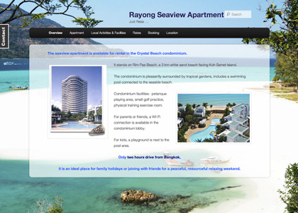 Rayong Seaview Apartment